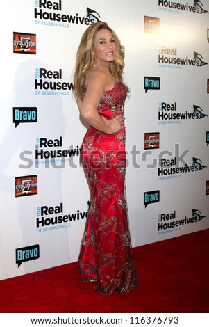 "LOS ANGELES - OCT 21:  Adrienne Maloof arrives at  ""The Real Housewives of Beverly Hills"" Season three premiere red carpet event at Roosevelt Hotel on October 21, 2012 in Los Angeles, CA"
