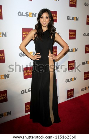 LOS ANGELES - OCT 5:  Brittany Ishibashi arrives at the 8th Annual GLSEN Respect Awards at Beverly Hills Hotel on October 5, 2012 in Beverly Hills, CA
