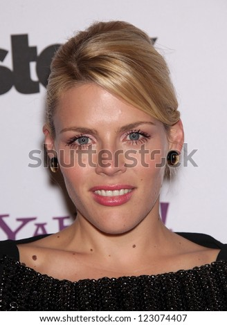 LOS ANGELES - OCT 24:  BUSY PHILLIPPS arriving to 15th Annual Hollywood Film Awards Gala  on October 24, 2011 in Beverly Hills, CA
