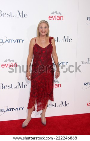 "LOS ANGELES - OCT 7:  Caroline Goodall at the ""The Best of Me"" LA Premiere at Regal 14 Theaters on October 7, 2014 in Los Angeles, CA"