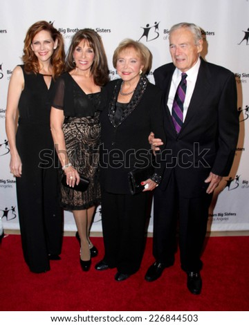 LOS ANGELES - OCT 24:  Christine Harte, Kate Linder, Lee Phillip Bell, Guest at the Big Brothers Big Sisters Big Bash at the Beverly Hilton Hotel on October 24, 2014 in Beverly Hills, CA