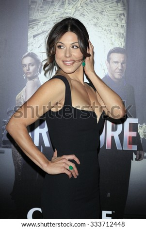 "LOS ANGELES - OCT 29:  Cristina Rosato at the ""The Art of More"" Premiere at the William Holden Theatre at Sony Pictures Studios on October 29, 2015 in Culver City, CA"