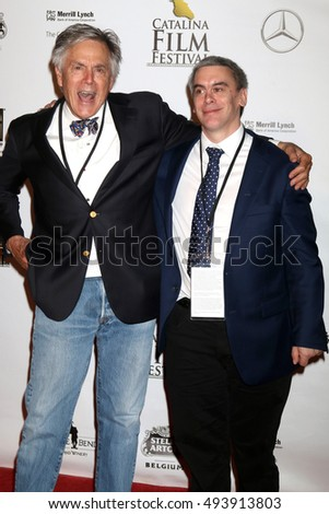 LOS ANGELES - OCT 1:  David Streit, Alex Streit at the Catalina Film Festival - Saturday at the Casino on October 1, 2016 in Avalon, Catalina Island, CA
