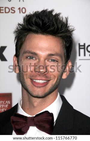 "LOS ANGELES - OCT 13:  Devon Graye arrives at the ""American Horror Story: Asylum"" Premiere Screening at Paramount Theater on October 13, 2012 in Los Angeles, CA - stock photo"