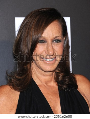 LOS ANGELES - OCT 08:  Donna Karan arrives to the 5th Annual PSLA Autumn Party  on October 8, 2014 in Culver City, CA                 - stock photo