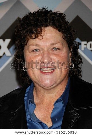 LOS ANGELES - OCT 4:  Dot Marie Jones arrives at the 2013 FOX Winter TCA All Star Party  on January 8, 2013 in Pasadena, CA