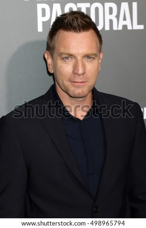 "LOS ANGELES - OCT 13:  Ewan McGregor at the ""American Pastoral"" Special Screening at the Samuel Goldwyn Theater on October 13, 2016 in Beverly Hills, CA"