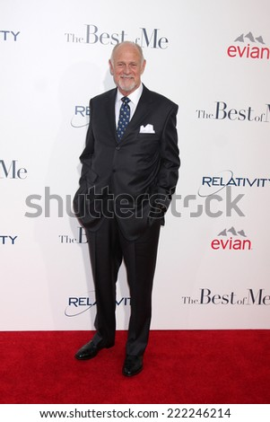 "LOS ANGELES - OCT 7:  Gerald McRaney at the ""The Best of Me"" LA Premiere at Regal 14 Theaters on October 7, 2014 in Los Angeles, CA"