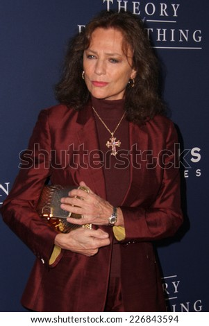 "LOS ANGELES - OCT 24:  Jacqueline Bisset at the ""The Theory Of Everything"" Premiere at the AMPAS Samuel Goldwyn Theater on October 24, 2014 in Beverly Hills, CA"