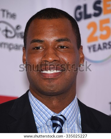 LOS ANGELES - OCT 23: <b>Jason Collins</b> arrives to the GLSEN Awards 2015 on ... - stock-photo-los-angeles-oct-jason-collins-arrives-to-the-glsen-awards-on-october-in-335025227