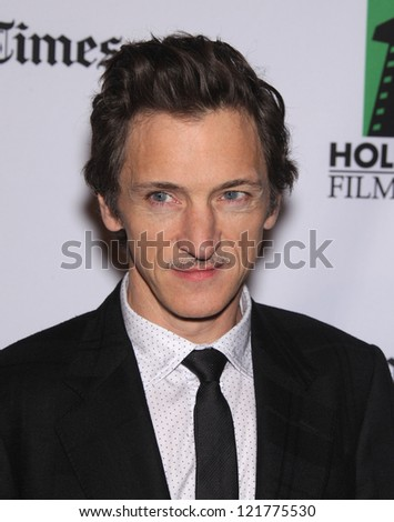 LOS ANGELES - OCT 22:  John Hawkes arrives to Hollywood Film Awards Gala 2012 on October 22, 2012 in Beverly Hills, CA