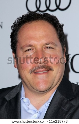 """LOS ANGELES - OCT 20:  Jon Favreau arrives at  the """"Reel Stories, Real Lives"""" Event at Milk Studios on October 20, 2012 in Los Angeles, CA - stock photo"""