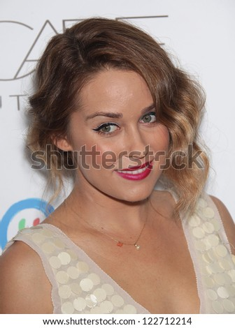 LOS ANGELES - OCT 26:  LAUREN CONRAD arriving to the 2nd Annual Autumn Party  on October 26, 2011 in West Hollywood, CA