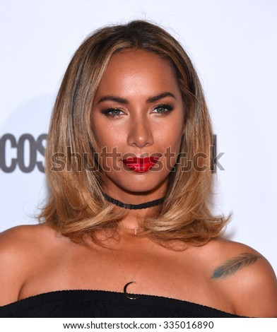 LOS ANGELES - OCT 13:  Leona Lewis arrives to the Cosmopolitan's 50th Birthday Party on October 13, 2015 in Hollywood, CA.                 - stock photo