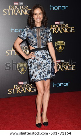 "LOS ANGELES - OCT 20:  Leonor Varela arrives to the ""Doctor Strange"" World Premiere  on October 20, 2016 in Los Angeles, CA"