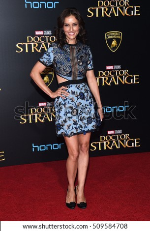 "LOS ANGELES - OCT 20:  Leonor Varela arrives to the ""Doctor Strange"" World Premiere on October 20, 2016 in Hollywood, CA"