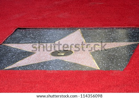 LOS ANGELES - OCT 1: Mark Harmon star at a ceremony as Mark Harmon is honored with a star on the Hollywood Walk of Fame on October 1, 2012 in Los Angeles, California - stock photo