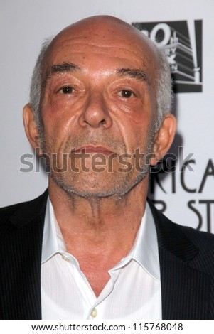 "LOS ANGELES - OCT 13:  Mark Margolis arrives at the ""American Horror Story: Asylum"" Premiere Screening at Paramount Theater on October 13, 2012 in Los Angeles, CA - stock photo"