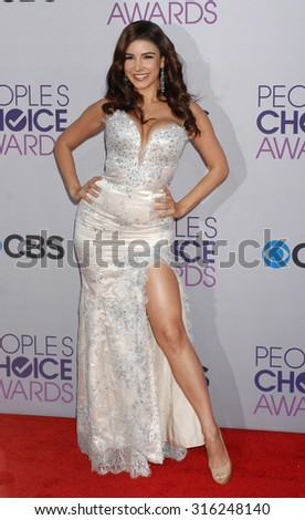 LOS ANGELES - OCT 4:  Mayra Veronica arrives at the 2013 Peoples Choice Awards  on January 9, 2013 in Los Angeles, CA
