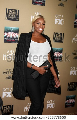 "LOS ANGELES - OCT 3:  NeNe Leakes at the ""American Horror Story: Hotel"" Premiere Screening at the Regal 14 Theaters on October 3, 2015 in Los Angeles, CA - stock photo"