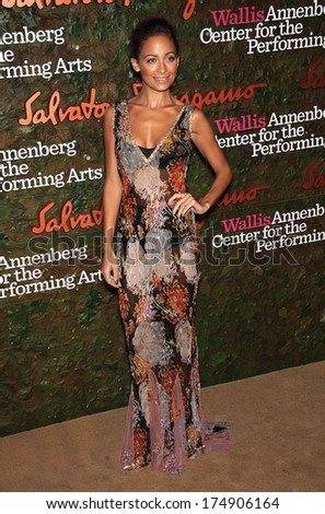 LOS ANGELES - OCT 17:  Nicole Richie arrives to the Wallis Annenberg Center for the Performing Arts Gala  on October 17, 2013 in Beverly Hills, CA                 - stock photo