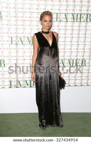 LOS ANGELES - OCT 13:  Nicole Richie at the La Mer Celebration Of An Icon Global Event at the Siren Studios on October 13, 2015 in Los Angeles, CA - stock photo