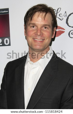 LOS ANGELES - OCT 15: Peter Krause at the LES GIRLS 12th annual cabaret at Avalon on October 15, 2012 in Los Angeles, California.