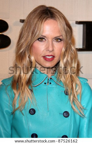 LOS ANGELES - OCT 26: Rachel Zoe arriving at the Burberry Body Launch at Burberry on October 26, 2011 in Beverly Hills, CA - stock photo