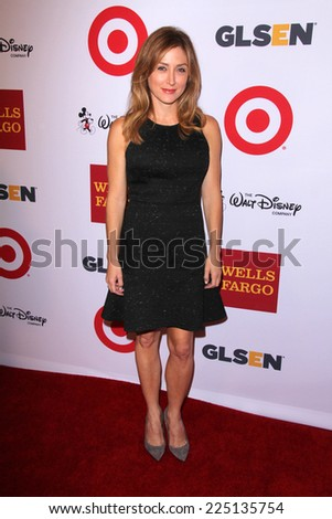 LOS ANGELES - OCT 17:  Sasha Alexander at the 10th Annual GLSEN Respect Awards at Regent Beverly Wilshire on October 17, 2014 in Beverly Hills, CA - stock photo