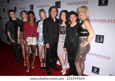 "LOS ANGELES - OCT 7:  Shameless Cast at the ""Rudderless"" Premiere at Vista Theater on October 7, 2014 in Los Angeles, CA"