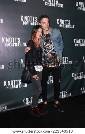 LOS ANGELES - OCT 3:  Shenae Grimes at the Knott's Scary Farm Celebrity VIP Opening  at Knott's Berry Farm on October 3, 2014 in Buena Park, CA