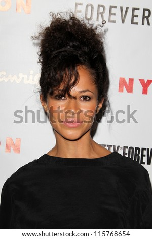 LOS ANGELES - OCT 15:  Sherri Saum arrives at  Nylon's October IT Issue party at London West Hollywood on October 15, 2012 in Los Angeles, CA - stock photo