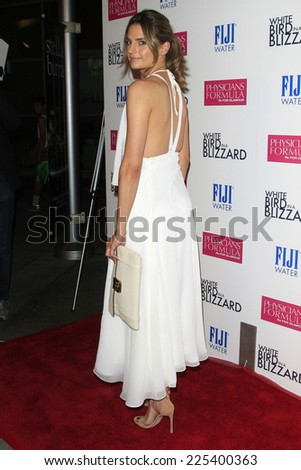 "LOS ANGELES - OCT 21:  Stana Katic at the ""White Bird in a Blizzard"" LA Premiere at Arclight Hollywood on October 21, 2014 in Los Angeles, CA"