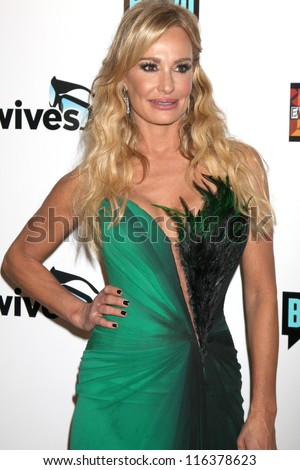 "LOS ANGELES - OCT 21:  Taylor Armstrong arrives at  ""The Real Housewives of Beverly Hills"" Season three premiere red carpet event at Roosevelt Hotel on October 21, 2012 in Los Angeles, CA"