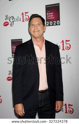 LOS ANGELES - OCT 11:  Tim Bagley at the Les Girls 15 at the Avalon Hollywood on October 11, 2015 in Los Angeles, CA - stock photo