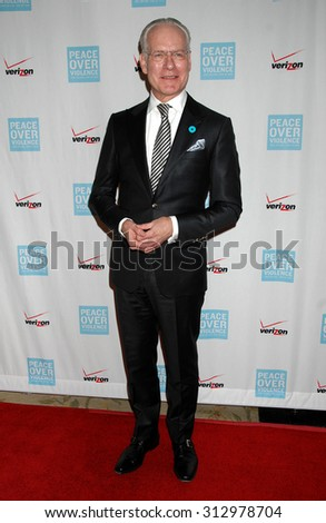 LOS ANGELES - OCT 25:  Tim Gunn arrives at the Peace Over Violence 42nd Annual Humanitarian Awards  on October 25, 2013 in Los Angeles, CA                 - stock photo