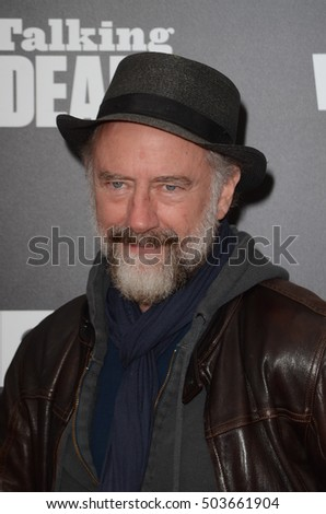 "LOS ANGELES - OCT 23:  Xander Berkeley at the AMC's Special Edition of ""Talking Dead"" at Hollywood Forever Cemetary on October 23, 2016 in Los Angeles, CA"