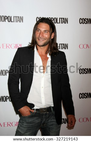 LOS ANGELES - OCT 12:  Zach McGowan at the Cosmopolitan Magazine's 50th Anniversary Party at the Ysabel on October 12, 2015 in Los Angeles, CA