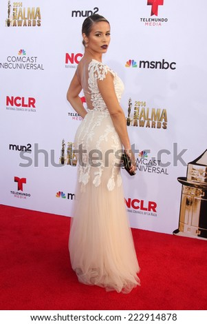 LOS ANGELES - OCT 10:  Zulay Henao at the 2014 NCLR ALMA Awards at Civic Auditorium on October 10, 2014 in Pasadena, CA