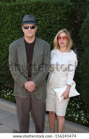 LOS ANGELES - SEP 29:  Albert Brooks at the Rape Foundation Annual Brunch at Green Acres Estate on September 29, 2013 in Beverly Hills, CA - stock photo