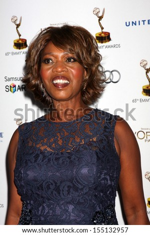 LOS ANGELES - SEP 20:  Alfre Woodard at the Emmys Performers Nominee Reception at  Pacific Design Center on September 20, 2013 in West Hollywood, CA