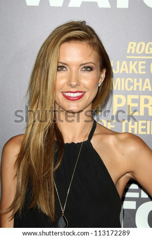 "LOS ANGELES - SEP 17:  Audrina Patridge arrives at the ""End Of Watch"" Premiere at Regal Cinemas L.A. Live on September 17, 2012 in Los Angeles, CA"