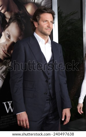 "LOS ANGELES - SEP 12:  Bradley Cooper arrives to the ""The Words"" Premiere  on September 12, 2012 in Hollywood, CA                 - stock photo"