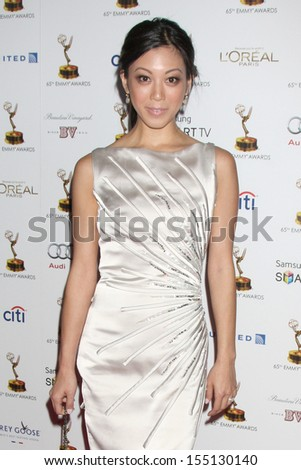 LOS ANGELES - SEP 20:  Brittany Ishibashi at the Emmys Performers Nominee Reception at  Pacific Design Center on September 20, 2013 in West Hollywood, CA - stock photo