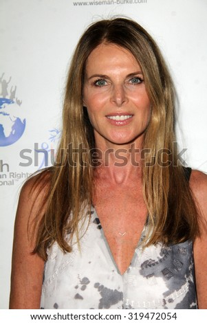 LOS ANGELES - SEP 21:  Catherine Oxenberg at the The Human Rights Hero Awards at the Beso on September 21, 2015 in Los Angeles, CA - stock photo