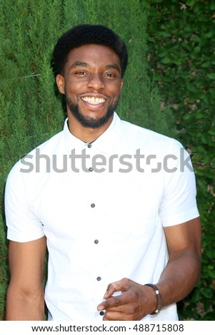 LOS ANGELES - SEP 25:  Chadwick Boseman at the The Rape Foundation's Annual Brunch at the Private Residence on September 25, 2016 in Beverly Hills, CA