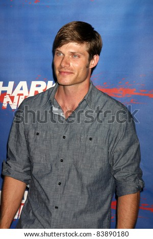 "LOS ANGELES - SEP 1:  Chris Carmack arriving at the ""Shark Night"" Screening at the Universal CityWalk on September 1, 2011 in Los Angeles, CA"