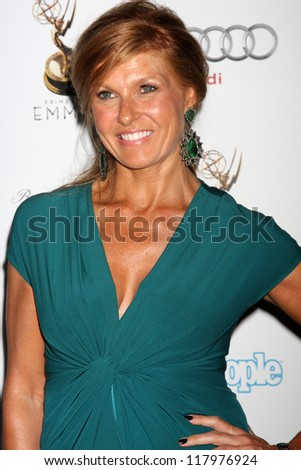 LOS ANGELES - SEP 21:  Connie Britton arrives at the Primetime Emmys Performers Nominee Reception at Spectra by Wolfgang Puck on September 21, 2012 in Los Angeles, CA - stock photo