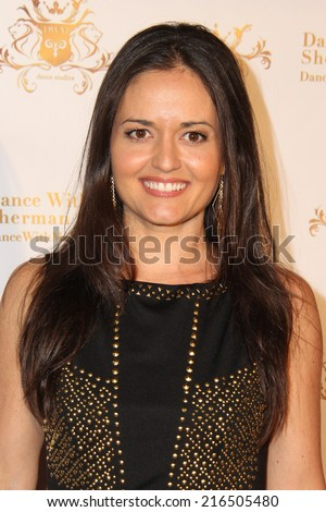 LOS ANGELES - SEP 10:  Danica McKellar at the Dance With Me USA Grand Opening at Dance With Me Studio on September 10, 2014 in Sherman Oaks, CA - stock photo
