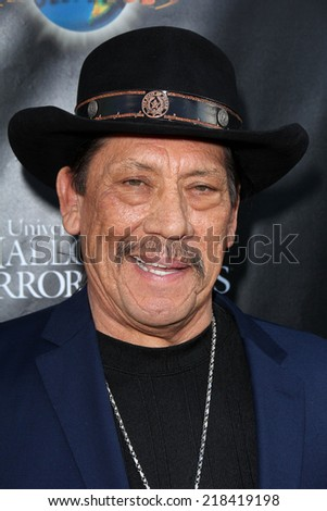 LOS ANGELES - SEP 18:  Danny Trejo at the Universal Studio's Halloween Horror Nights 2014 Eyegore Award at Universal Studios on September 18, 2014 in Los Angeles, CA